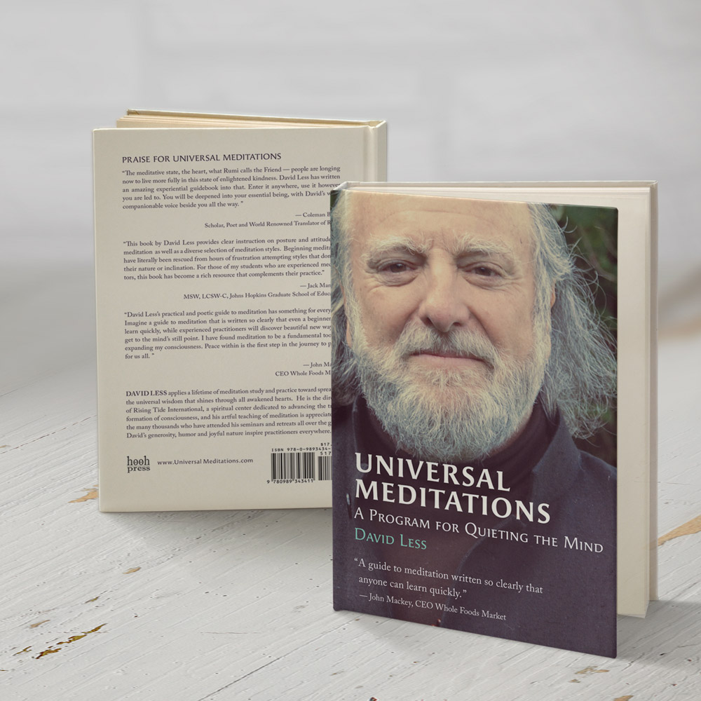 Universal Meditations Soft Cover Book | David Less