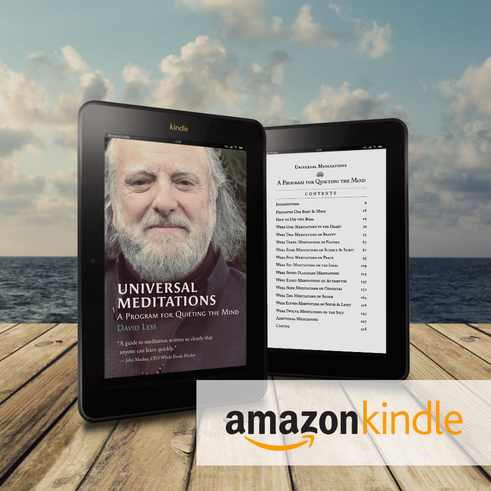 Kindle Version | Universal Meditations by David Less