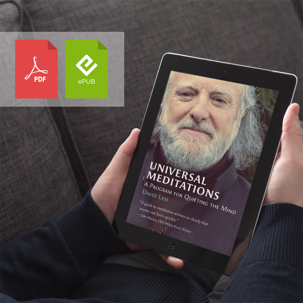 ePup Version | PDF | Universal Meditations by David Less